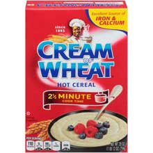 Krafts Cereal Cream of Wheat Cooked On Stove for 2.5 Minute 28 Ounce