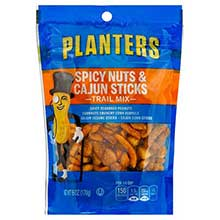 Planters Trail Mix Cajun Stick Spicy Nuts 6 Ounce