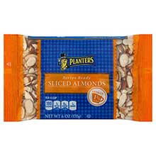Planters Sliced Almond6 Ounce