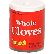 Tones Whole Cloves - 0.4 oz jar