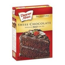 Duncan Hines Swiss Chocolate Cake Mix 18.25 Ounce