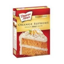 Duncan Hines Orange Cake 18.25 Ounce