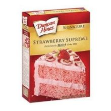 Duncan Hines Strawberry Cake 18.25 Ounce