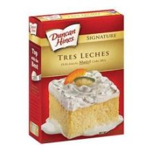 Duncan Hines Tres Leches Cake