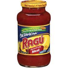 Ragu With Meat Sauce 26 Ounce
