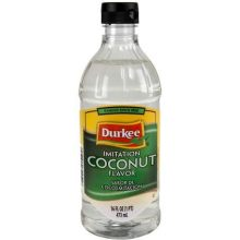 Durkee Imitation Coconut Flavor - 16 oz. bottle