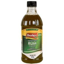Durkee Imitation Rum Flavor - 16 oz. bottle