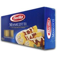 Manicotti Pasta