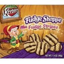 Kelloggs Keebler Fudge Shoppe Mini Fudge Stripes Cookies 2 Ounce