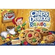 Kelloggs Keebler Chips Deluxe Rainbow Chocolate Chip Cookies 3 Ounce