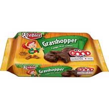 Kelloggs Keebler Fudge Shoppe Grasshopper Mint Cookies 10 Ounce