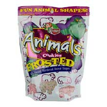 Keebler Iced Animal Cookies Frosted 13-Ounce Bags