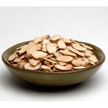 Sliced Natural Almond Nuts