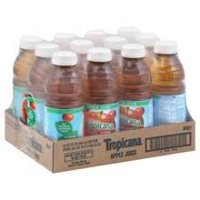 Juice Tropicana Apple Plastic Bottle