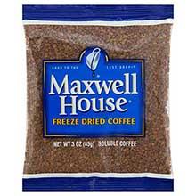 Maxwell House Freeze Dried Coffee - 3 oz. pack
