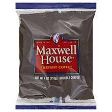 Maxwell House Freeze Dried Coffee - 4 oz. pack