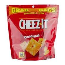 Cheez-It Crackers - 7 oz. grab bag