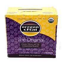 Oregon Chai Original Chai Tea Latte Concentrate - 1.5 gallon