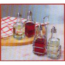 Oil and Vinegar Cruet With Wire Rack 5.Oz