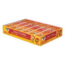 Keebler Sandwich Cheese and Cheddar Sandwich Crackers - 12 count tray