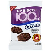 Oreo Cookies 100 Calorie Pack .81 Ounce