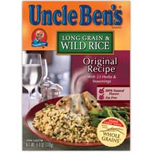 Uncle Bens Long Grain and Wild Ready Rice 8.8 Oz