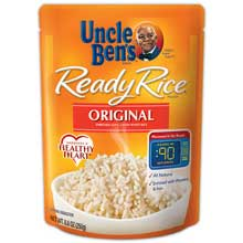 Uncle Bens Original Long Grain White Ready Rice 8.8 Oz