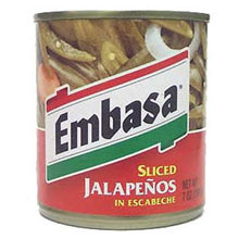 Embasa Sliced Jalapeno Pepper with Escabeche