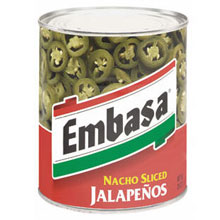 Embasa Nacho Sliced Jalapeno Peppers
