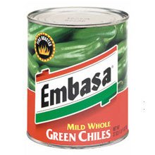 Embasa Green Chile Peppers