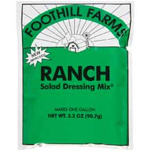 Foothill Farms Ranch Dressing Mix 3.2 Ounce