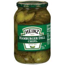 Heinz Hamburger Dill Pickle