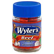 Wylers Beef Bouillon Cube