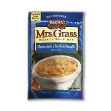 Mrs Grass Chicken Noodle Soup Mix