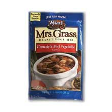 Mrs Grass Hearty Homestyle Beef Soup Mix