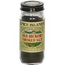 Spice Islands Old Hickory Smoked Salt - 4.8 oz. jar
