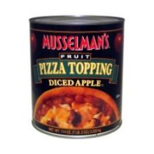 Knouse Foods Musselmans Diced Apple Pizza Topping 114 Ounce