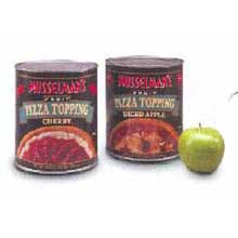 Knouse Foods Musselmans Cherry Pizza Topping 114 Ounce