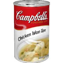 Campbells Condensed Chicken Won Ton Soup