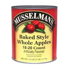 Knouse Foods Musselmans Whole Baked Apple 112 Ounce