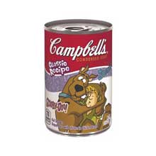 Campbells Kids Soups Red and White Fun Shapes Dora The Explorer Soup