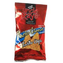 Uncle Rays Nacho Flavored Tortilla Chips - 1.75 oz. bag