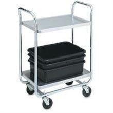 Vollrath 2 Shelf Tubular Cart 500 Pound 21 x 33 inch