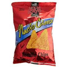 Uncle Rays Nacho Flavored Tortilla Chips, 3.5 oz. bag