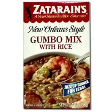 Zatarains Gumbo Mix Served with Rice 7 Ounce