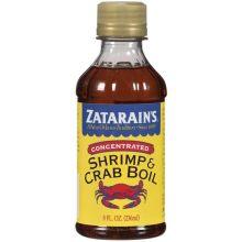 Zatarains Concentrated Liquid Sea Crab and Shrimp Boil 8 Ounce