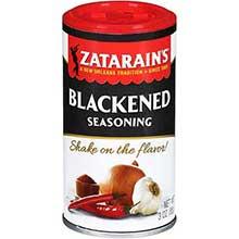 Zatarains Blackened Seasoning - 3 oz. shaker can