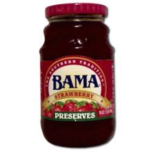 Welchs Bama Strawberry Preserve 16 Ounce