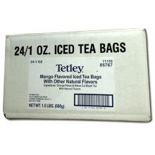Tetley Mango Flavored Iced Tea - 1 oz. tea bag
