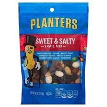 Planters Sweet and Nutty Trail Mix - 6 oz. bag